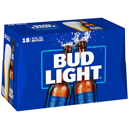 Bud Light Beer - 12 oz. x 18 pack