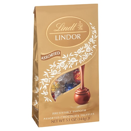 Lindt Lindor Truffles Assorted Milk, Dark and White Chocolates