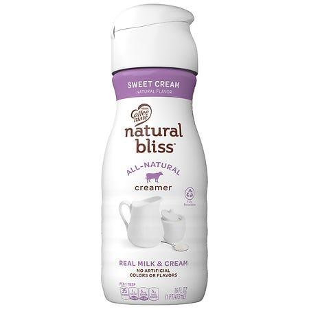 Coffee-mate Natural Bliss Coffee Creamer Sweet Cream - 16 fl oz