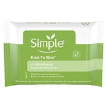 Simple Cleansing Facial Wipes