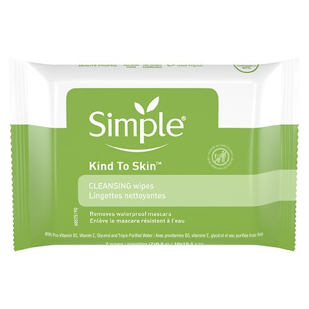 Simple Cleansing Facial Wipes - 7 ea.