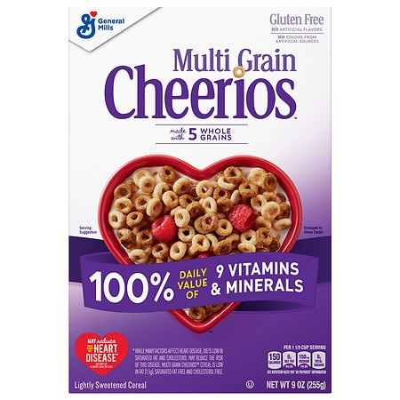Cheerios Multi-Grain Cereal - 9 oz.