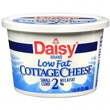 Daisy Low Fat Cottage Cheese Small Curd