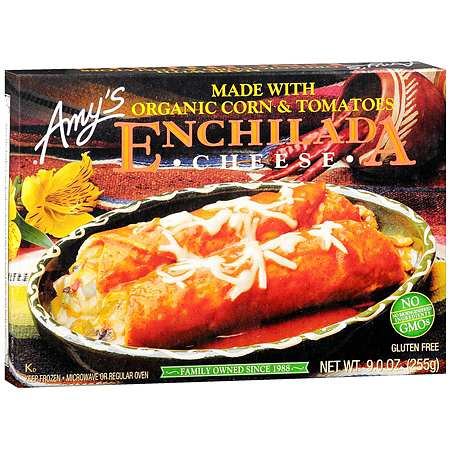 Amy's Frozen Entree Cheese Enchilada - 9 oz.