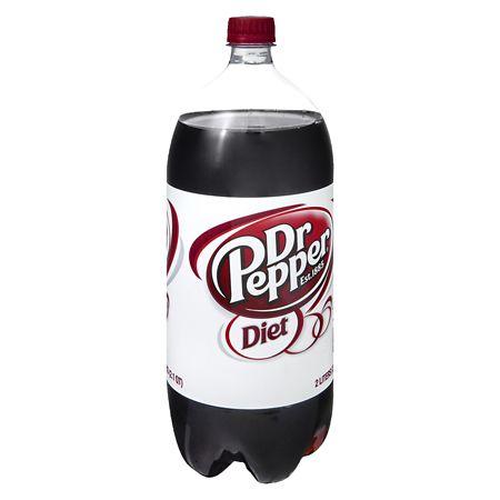 Diet Dr. Pepper Soda - 2 L
