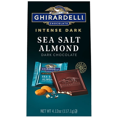 Ghirardelli Dark Chocolate Sea Salt Caramel Calories