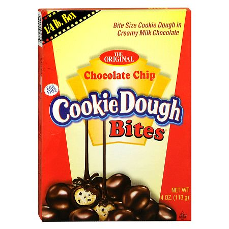 Cookie Dough Bites Cookie Dough in Creamy Milk Chocolate Candy - 4 oz.