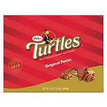 Turtles Original Chocolate Covered Nut Clusters Caramel, Premium Pecans Covered in Milk Chocolate