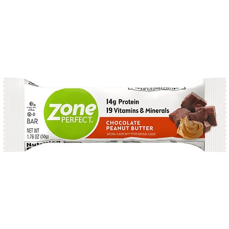 ZonePerfect Classic All-Natural Nutrition Bar Chocolate Peanut Butter
