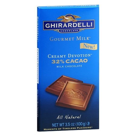 Ghirardelli Gourmet Milk Chocolate Bar Creamy Devotion