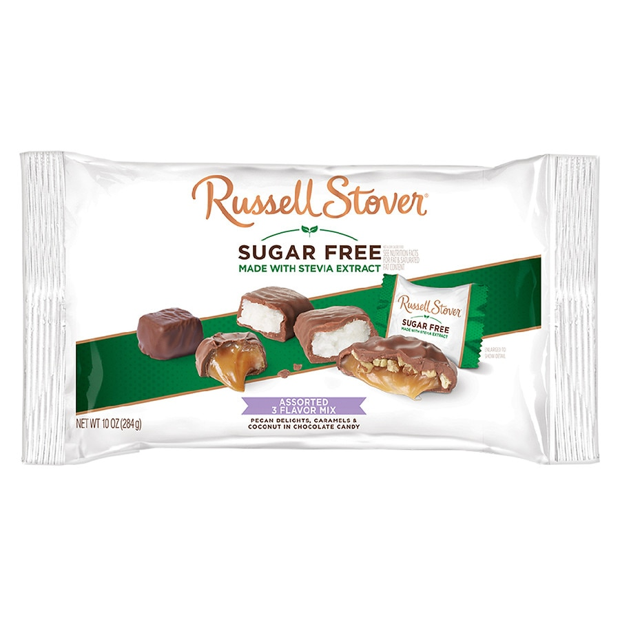 russell stover sugar free chocolate candy mix | walgreens