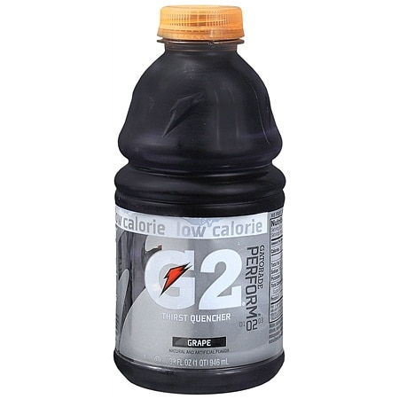 Gatorade G2 Perform 02 Thirst Quencher Grape