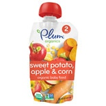 Plum Organics Baby Organic Baby Food Sweet Potato, Corn & Apple