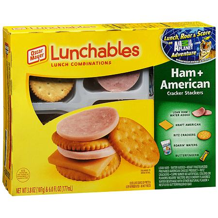 Oscar Mayer Lunchables Lunch Combinations