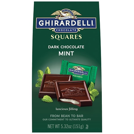 Ghirardelli Chocolate Squares Dark & Mint