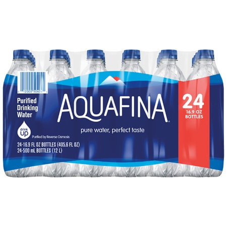 Aquafina Drinking Water - 16.9 oz. x 24 pack
