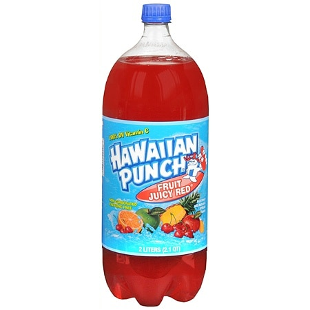 Hawaiian Punch Beverage 2 Liter Fruit Juicy Red