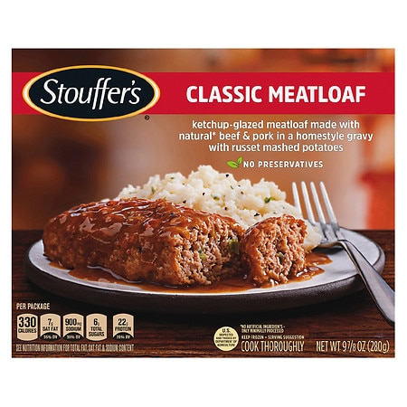 graphic about Stouffer Coupons Printable named Stouffers Signature Clics Frozen Entree Meatloaf