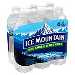 Ice Mountain 100% Natural Spring Water 6 Pack