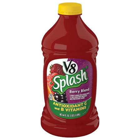 V8 Splash Juice Beverage Berry Blend