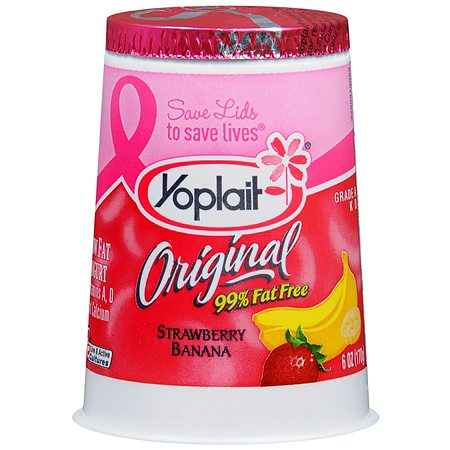 Yoplait Original Low Fat Yogurt - 6 oz.