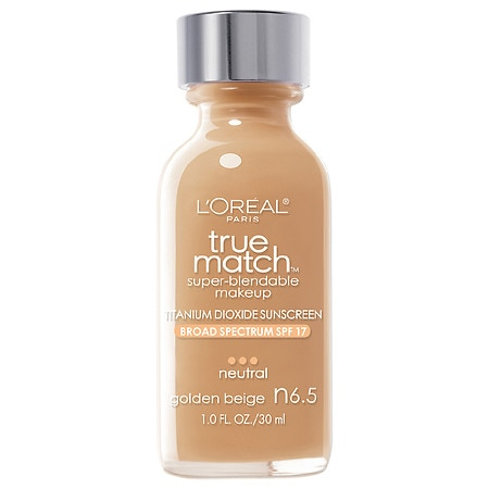 L'Oreal Paris True Match Super-Blendable Foundation Makeup - 1 fl oz