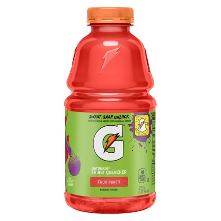 Gatorade G Series Perform 02 Thirst Quencher Fruit Punch