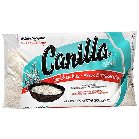 Canilla Enriched Rice - 8 oz.