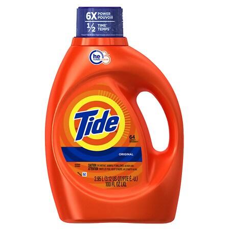 Tide HE Laundry Detergent - 100 oz.