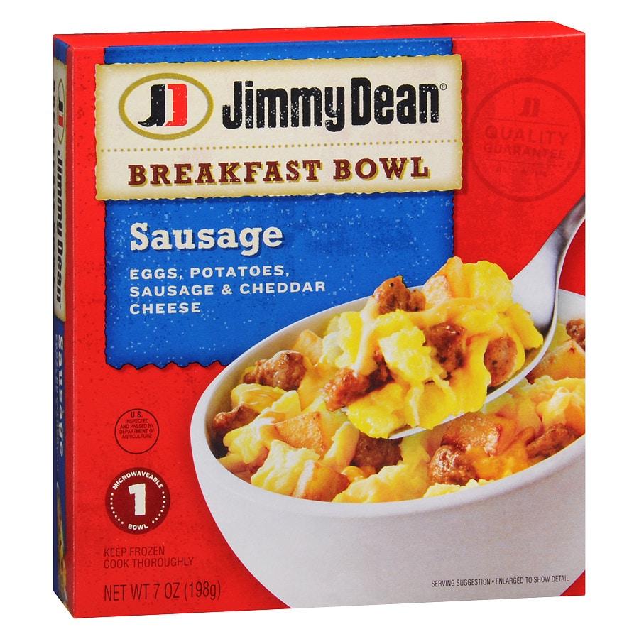 Jimmy Dean Breakfast Bowl Frozen Entree Sausage | Walgreens