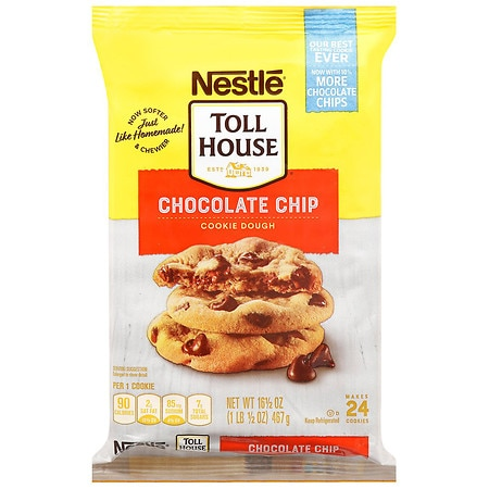 Nestle Toll House Cookie Dough Chocolate Chip