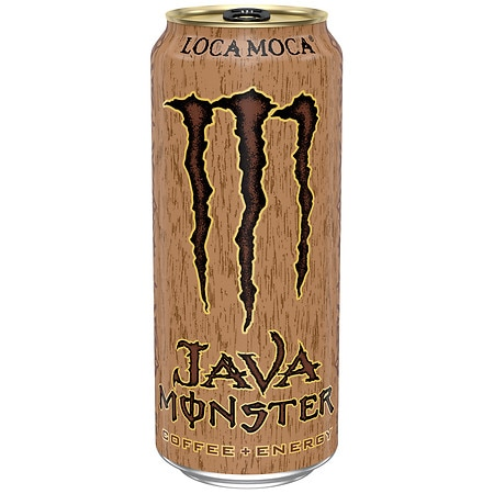 Monster Java Coffee + Energy Supplement Drink - 15 oz.
