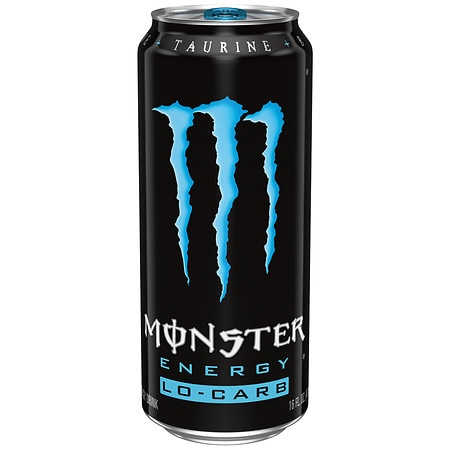 Monster Lo-Carb Energy Supplement Drink