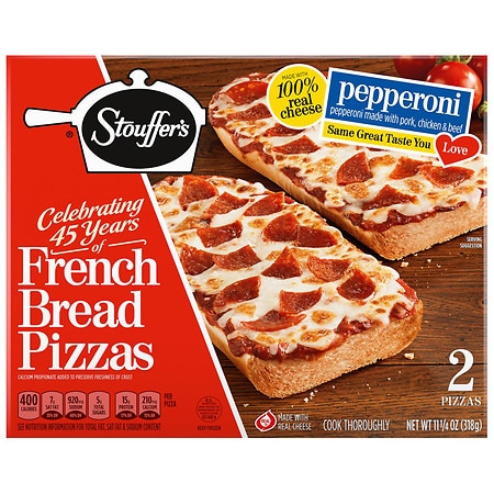Stouffers Frozen French Bread Pizza