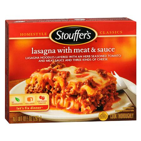 Stouffer's Homestyle Classics Frozen Entree Lasagna with Meat & Sauce