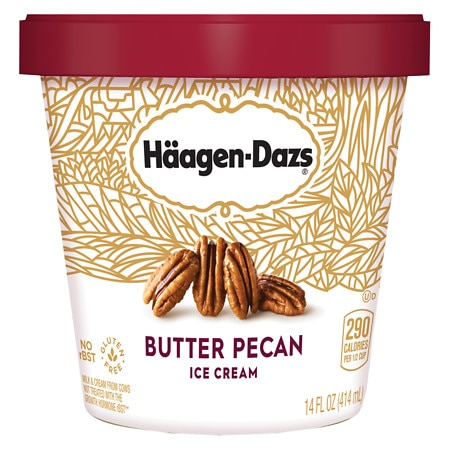 Haagen-Dazs Ice Cream Butter Pecan