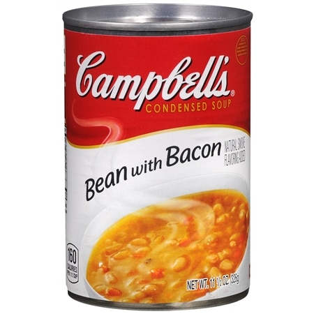 Campbell's Condensed Soup Bean with Bacon - 11.5 oz.