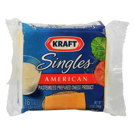 kraft singles cheese with calcium