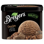 Breyers All Natural Ice Cream Chocolate