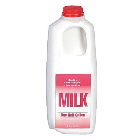 Milk Whole 1/2 Gallon