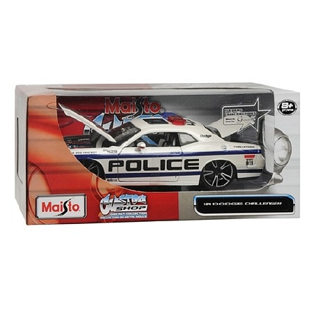 Maisto Custom Shop Die Cast Toy Car Dodge Challenger