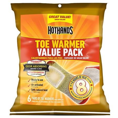 HotHands Toe Warmer Value Pack 6 pk