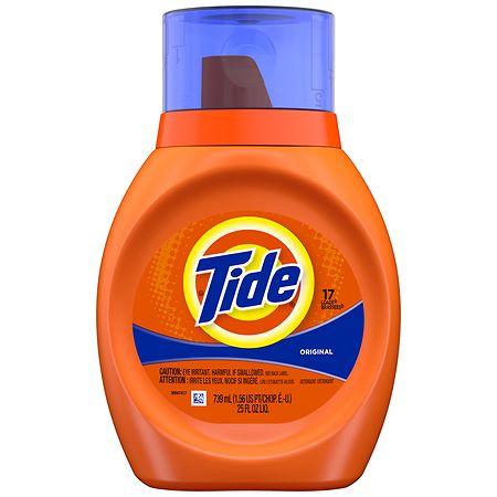 Tide Laundry Detergent Liquid 25 Oz.