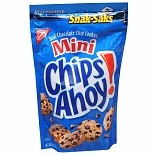 Nabisco Mini Chips Ahoy! Real Chocolate Chip Cookies