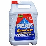 PEAK Ready Use 50/ 50 Prediluted Antifreeze & Coolant Liquid