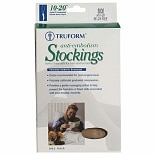 cfdf4e0cc0 Truform Anti-Embolism Stocking, Below Knee Closed Toe Style Medium White