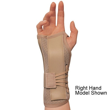 OTC Professional Orthopaedic Soft-Fit Suede Finish Wrist Brace, Left
