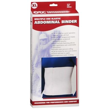 OTC Professional Orthopaedic Elastic Abdominal Binder White - 1 ea.