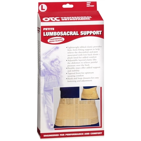 OTC Professional Orthopaedic Lumbosacral Support Petite Beige - 1 ea