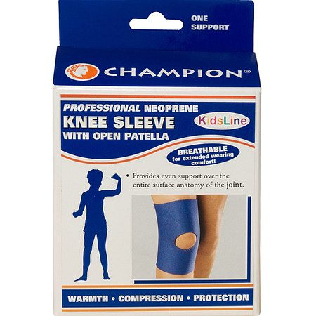 Champion Kids Knee Sleeve, Neoprene - 1 ea.